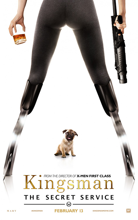 Kingsman The Secret Service Poster: The Dog