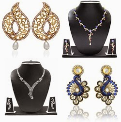 Women's Fashion Jewellery – below Rs.699 Only (Upto 87% Off)  @ Flipkart