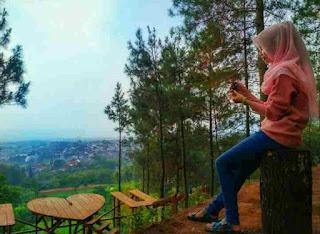 Boss (Brambang Outdoor Spot Selfie) mojokerto jawa timur, wisata Brambang Pacet, wisata pacet mojokerto, wisata boss, boss hutan pinus