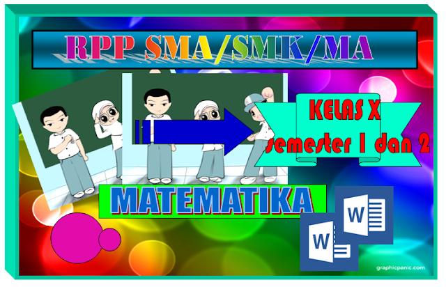 RPP Matematika SMA Kelas X kurikulum 2013