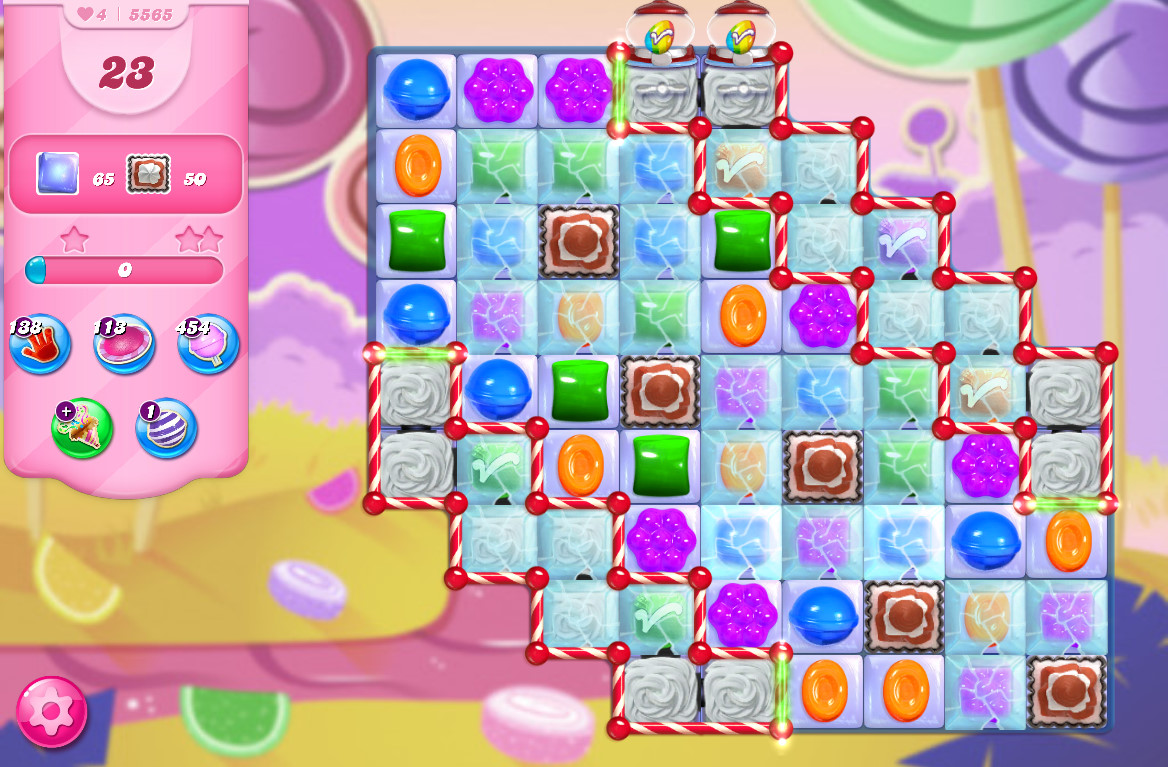 Candy Crush Saga level 5565