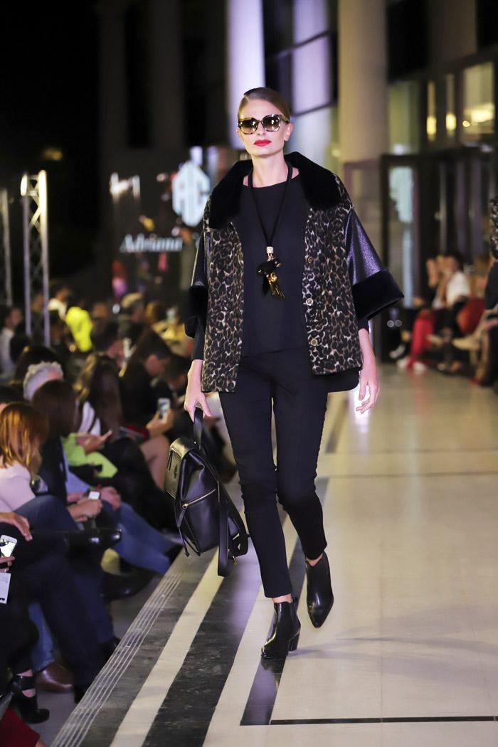 Argentina Fashion Week otoño invierno 2019 │ Desfile Adriana Costantini otoño invierno 2019. │ Moda otoño invierno 2019 en Argentina. │ Camperas de piel invierno 2019 moda mujer.
