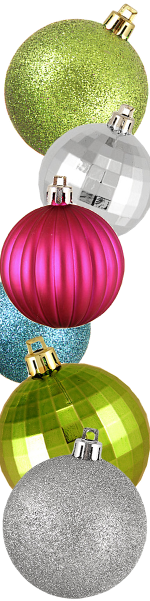 Wayfair 100-Piece-Shatterproof Christmas Ball Ornament Set-