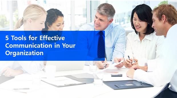 5 herramientas para una comunicación efectiva en su organización 2