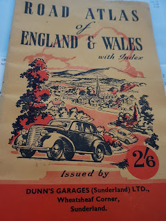 Dunn's Garages (Sunderland) Ltd Road Atlas cover