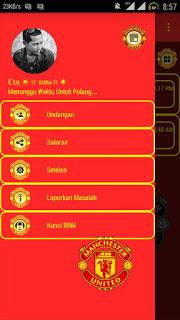 BBM Manchester United MU versi Terbaru 3.0.1.25 APK