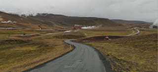 Alrededores del lago Mývatn. Central geotérmica, Islandia, Iceland.