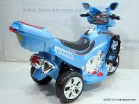 5 Motor Mainan Aki Merino 818 Police Escort