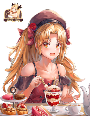 GAMES | FAMILY RENDERS: TOHSAKA RIN 389 (ERESHKIGAL)
