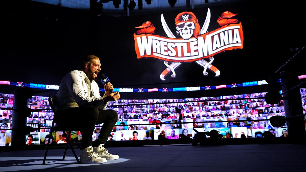 Edge on WWE SmackDown