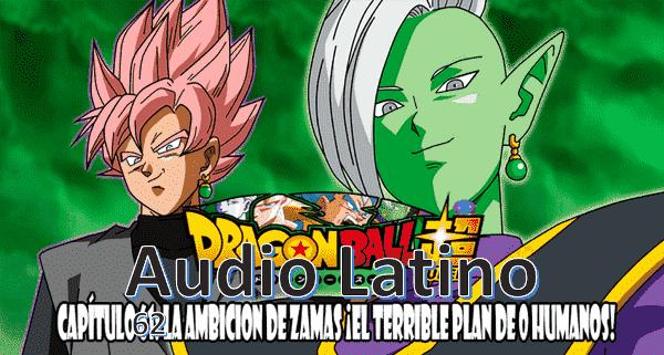 Ver capitulo 62 en audio latino, apesar de aumentar de poder, Trunks del futuro no puede derrotar a Zamas y Black.