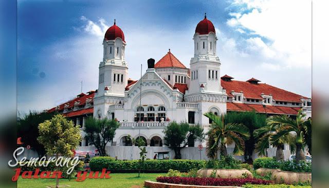 Lawang Sewu Obyek Wisata di Semarang Yang Paling Populer