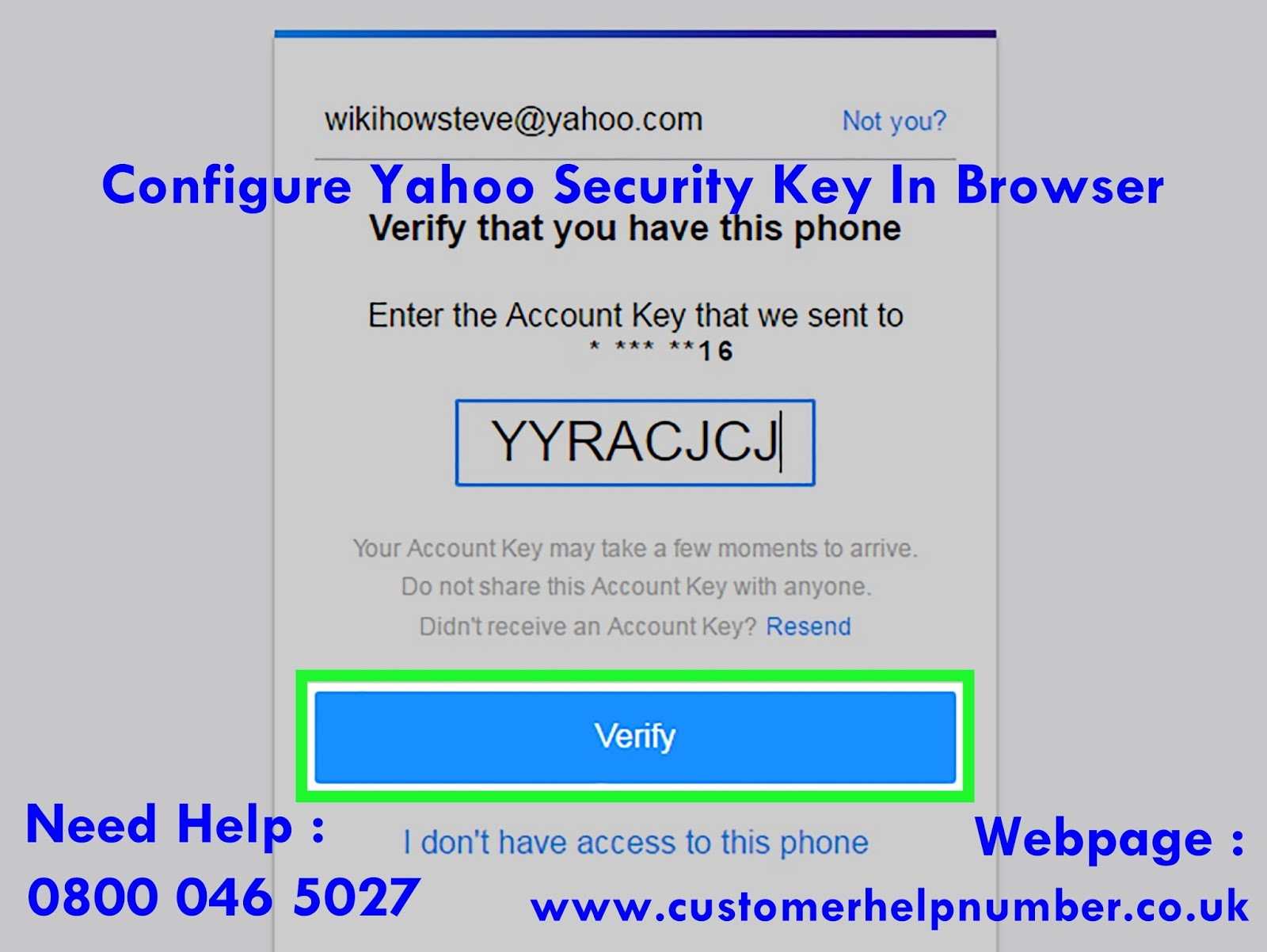 how to create yahoo account without phone number 2017