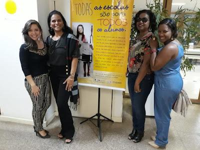 Profissionais da Secretaria Municipal de Educação de Alagoinhas participam de seminário em Salvador