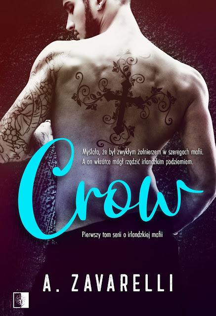 """A. Zavarelli """"Crow"""" z nakładu Wydawnictwa NieZwykłe z premierą w dniu 25.11.2020 r."""