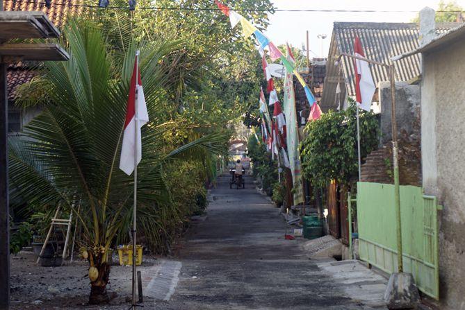 Jalan kampung Pandean, Rembang