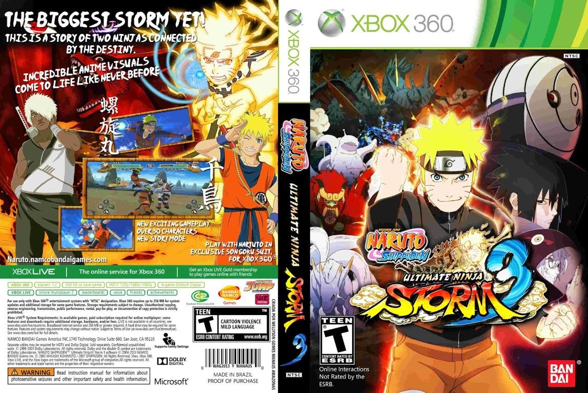 Naruto Shippuden Ultimate Ninja Storm 3 Full Burst | Jogos ...
