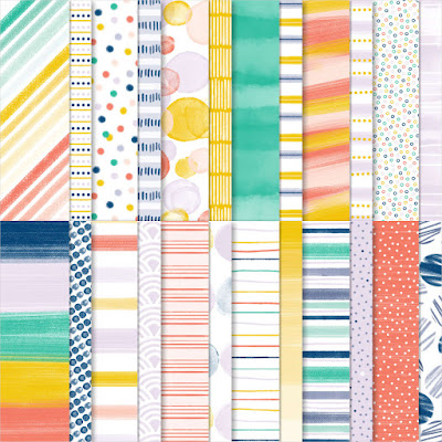 Playing With Patterns Designer Series Paper, 6x6 paper, patterned paper, paper sale, craft supplies sale, craft sale, stampin' up! sale, designer series paper sale, nicole steele, the joyful stamper, independent stampin' up! demonstrator from pittsburgh pa