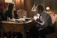 Jessica Chastain and Chris O'Dowd in Molly's Game