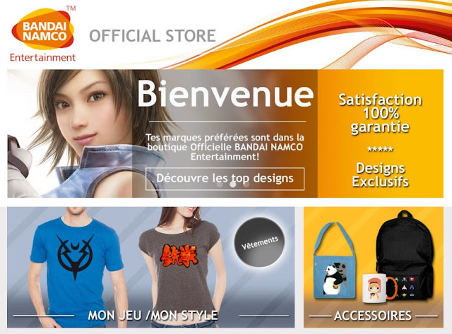 BANDAI NAMCO Entertainment Boutique Officielle
