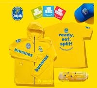 Logo Concorso Chiquita '' Bollini Fitness 2020'' : vinci gratis t-shirt, giacca,cappellini e borracce
