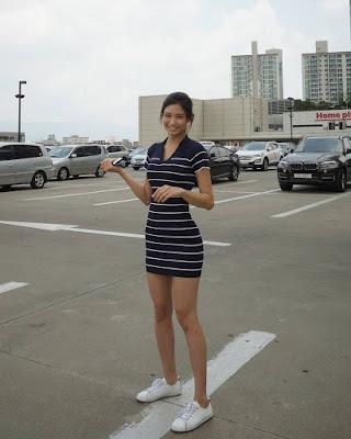 Lee Hee Eun cewek manis dan seksi Lee Hee Eun