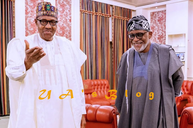 Governor Akeredolu Seeks For Legalization Of Marijuana In Meeting With Buhari