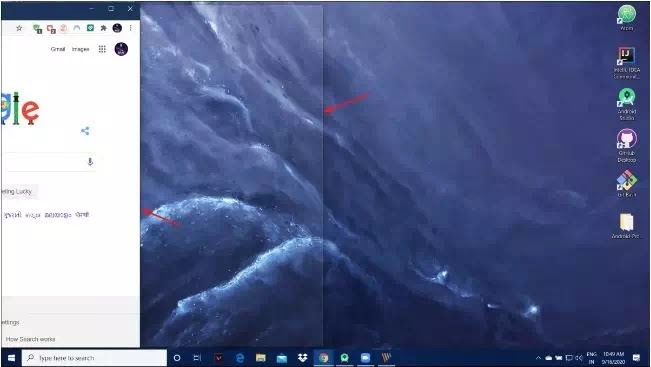 Cara Membagi Layar di PC Windows 10 (Split Screen)-5