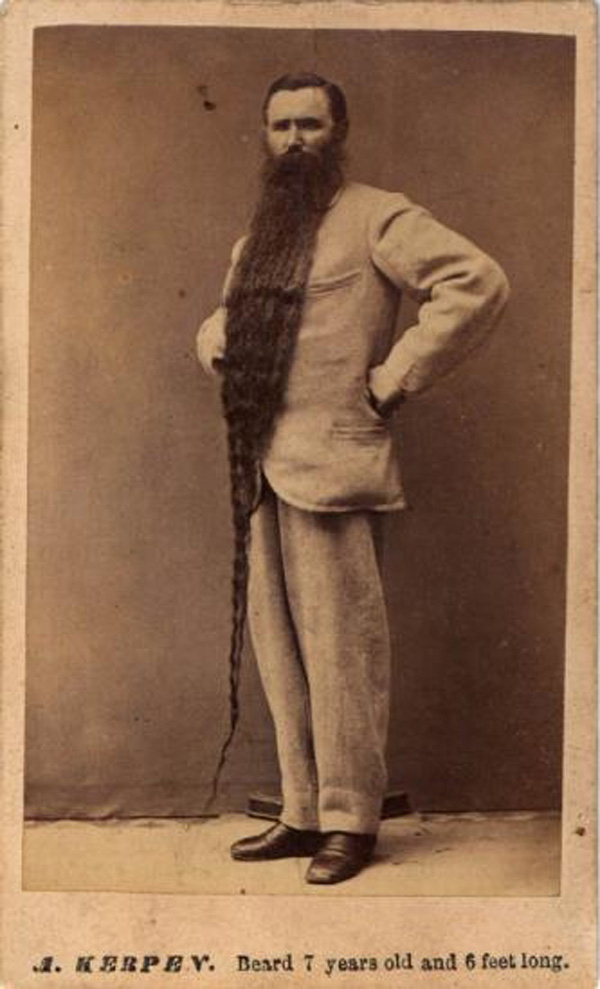 Remarkable Vintage Everyday Awesome Pictures Of Long Beards In The Past That Hairstyles For Men Maxibearus