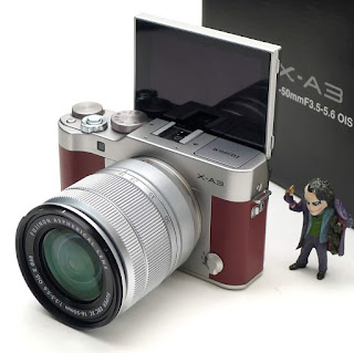 Kamera Mirrorless Fujifilm XA3 Fullset Second Malang