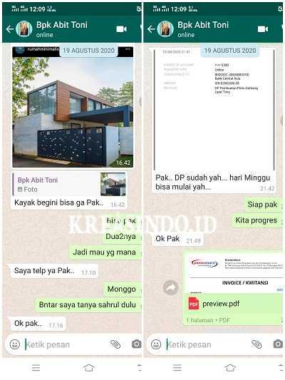 Pintu Pagar Besi Plat Cutting Laser Minimalis pesanan Bpk Abit Toni Cipete Jakarta - Order Kedua
