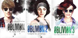 Resultado de imagen de trilogia oblivion francesc miralles