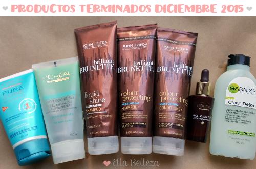 Productos terminados diciembre 2015