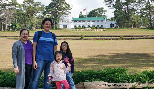 Baguio City - DIY family trip - The Mansion