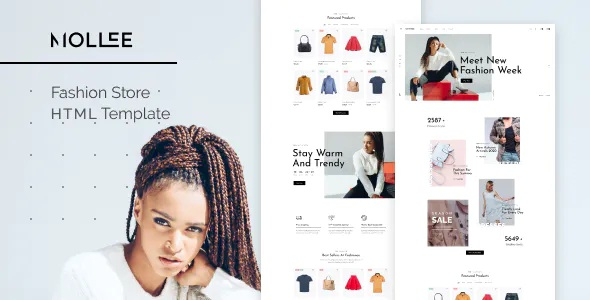 Best Fashion Store HTML Template