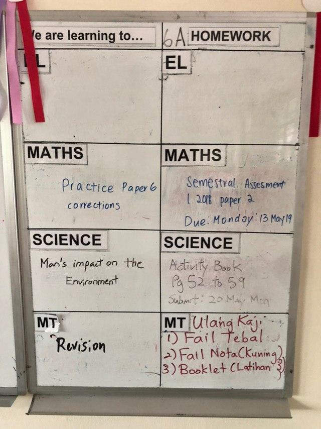 homework board pvps