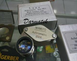 Darmatek Jual Loupe Magnifier Iwamoto 20x perbesaran