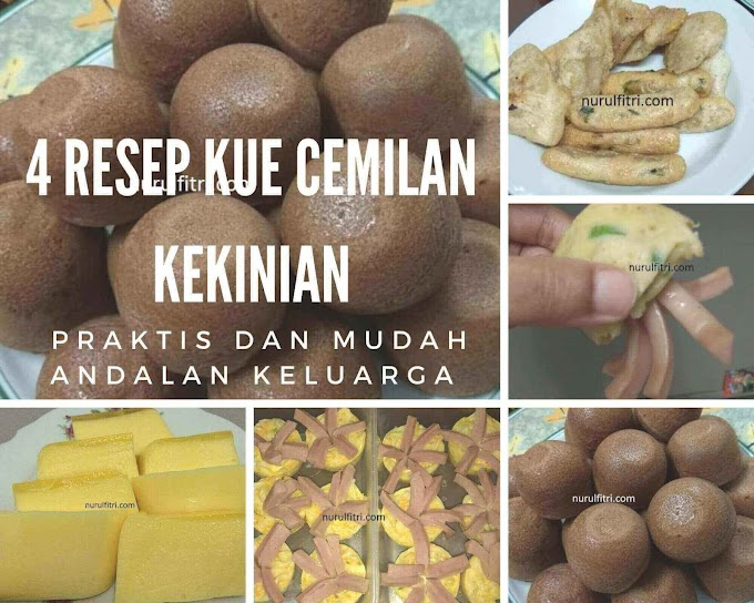 4 Resep Kue Cemilan Kekinian Praktis dan Mudah Andalan Keluarga