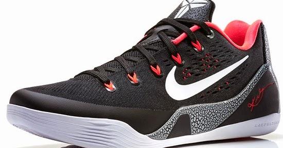 d8388f0ab02 ajordanxi Your  1 Source For Sneaker Release Dates  Nike Kobe 9 EM Black  White-Laser Crimson-Wolf Grey May 2014