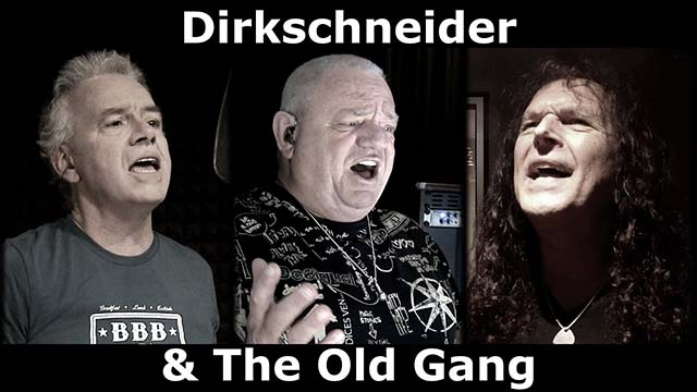 Το συγκρότημα Dirkschneider & the Old Gang