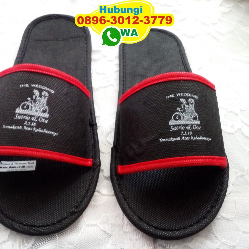 Sandal Hotel Spunbond Jadian Lamaran Menikah   Souvenir ...