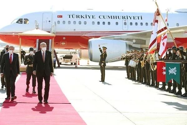 Ερντογάν: Τα θύματα στην Κύπρο είναι οι Τουρκοκύπριοι