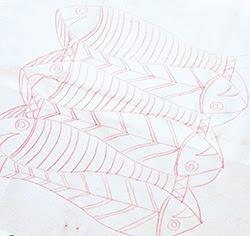 Cách vẽ mẫu thêu lên vải - Hình 6