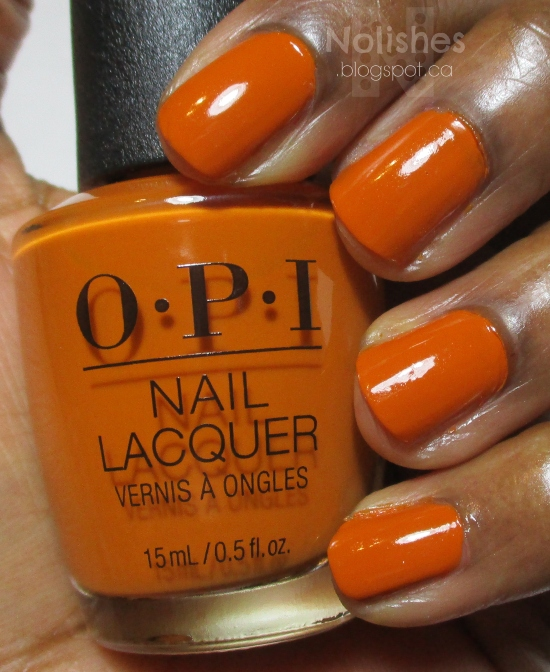 OPI 'Have Your Pannetone and Eat it Too'