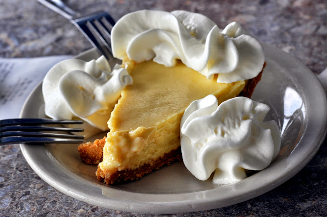 Key Lime Pie - Rod & Reel Pier Restaurant - Anna Maria, FL | Taste As You Go