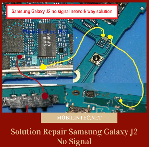 Solution Repair Samsung Galaxy J2 No Signal Network