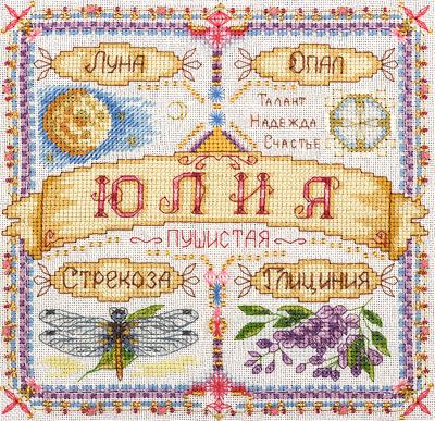 Панна вышивка крестом именные обереги схемы