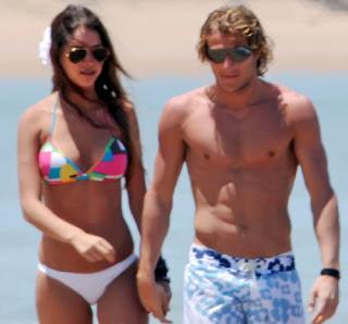 Diego Forlan Girlfriend Zaira Nara