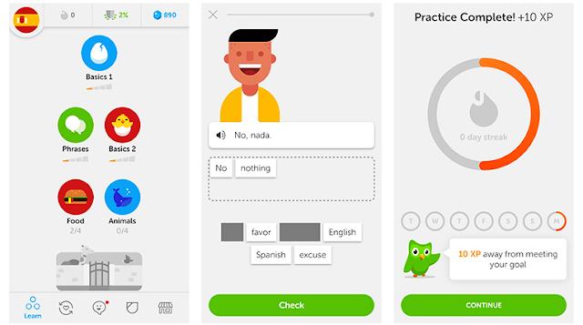 تحميل تطبيق Duolingo النسخة المدفوعة مجانا لـ تعلم اللغات الأجنبية