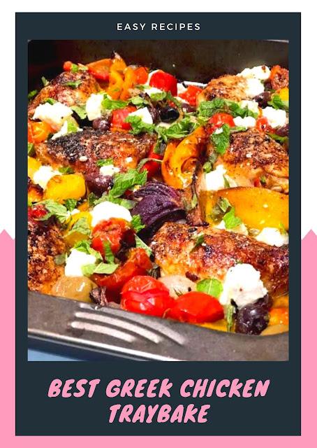 Best Greek Chicken Traybake
